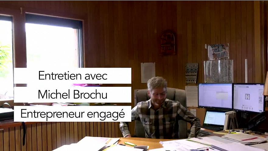 Economie Circulaire : Portrait d'entrepreneur : Michel Brochu