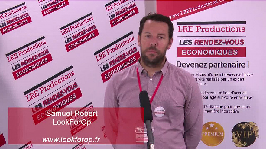 Samuel Robert / LookForOp / Consultant en recrutement