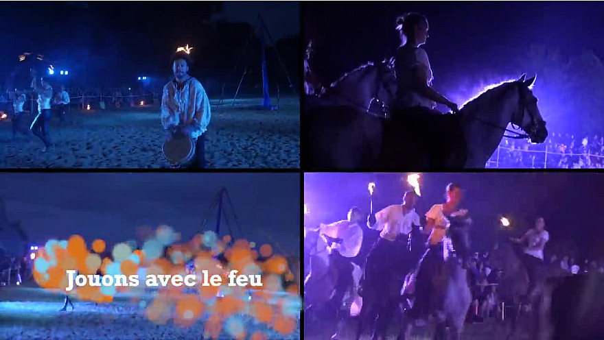 Caval Production #spectacle #feu #équestre  @CavalProduction