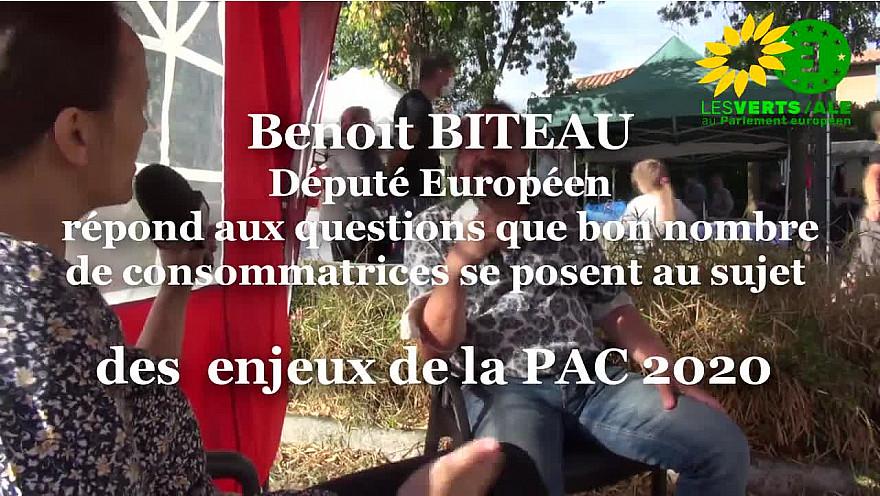 PAC 2020 : Nous citadines, bio, agriculture vertueuse, la PAC : toutes les questions que nous nous posons @BenoitBiteau #PAC2020