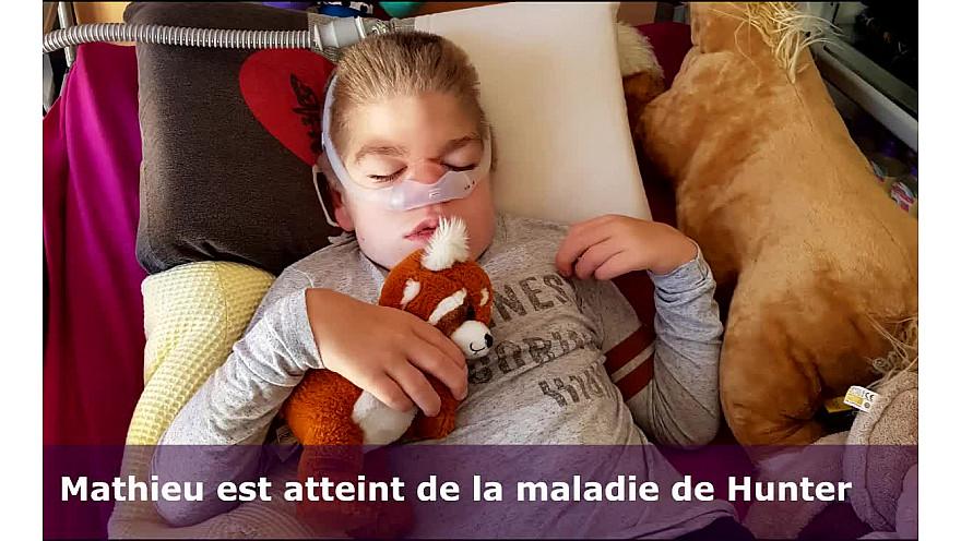 Quelques nouvelles de Mathieu, notre petit guerrier 'par sa maman Emilie' (Mathieu est atteint par la maladie de Hunter)