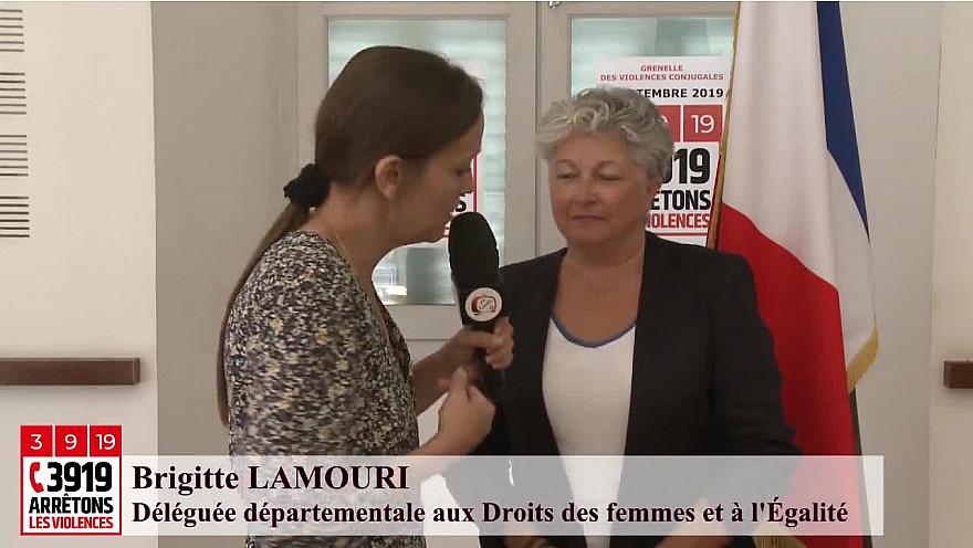 '3919 Arrêtons Les Violences' Brigitte LAMOURI Déléguée départementale aux Droits des femmes et à l'Égalité #GrenelleViolencesConjugales @MarleneSchiappa @Prefet_82