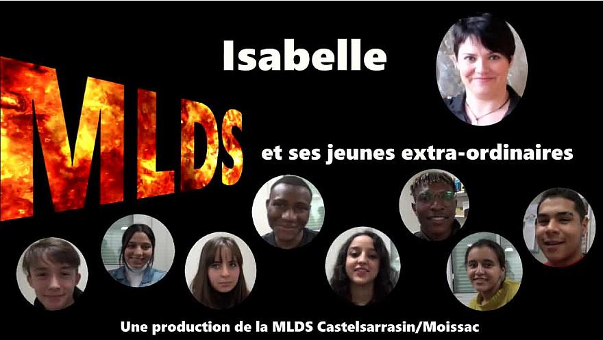 Isabelle et ses jeunes extraordinaires : fiction sélectionnée au concours 'je filme le métier qui me plaît'