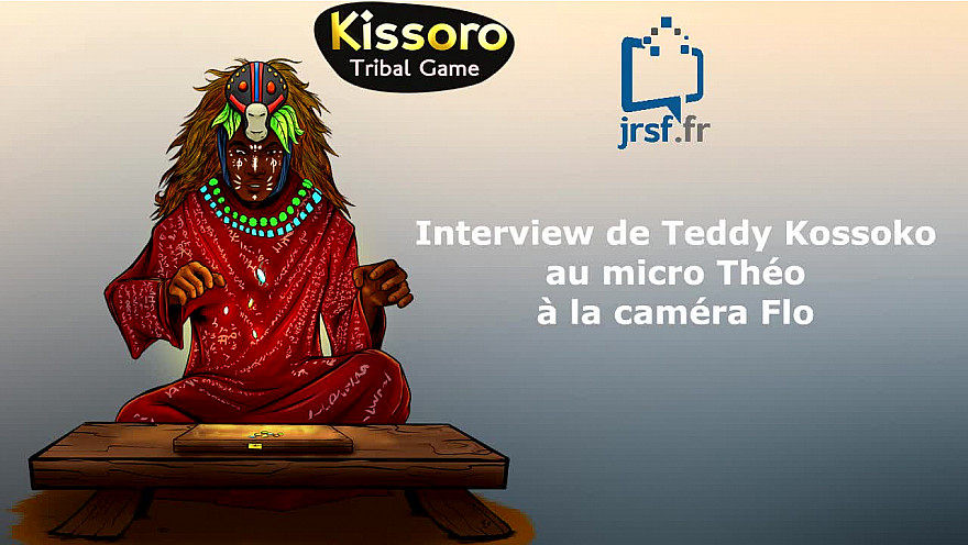 Théo et Flo, Jeunes Reporters Sans Frontières, ont rencontré Teddy KOSSOKO de @Massekagamestud lors Albi Geek Celebration @smartrezo