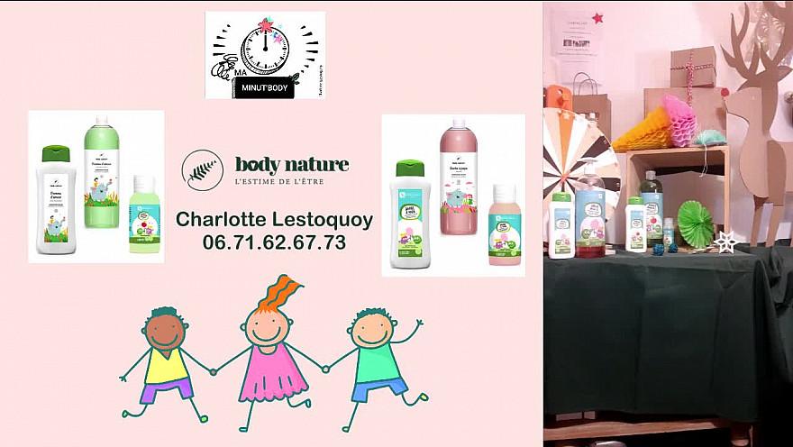 Charlotte Lestoquoy - conseillère BodyNature vous présente Pomme d'Amour et Barbapapa