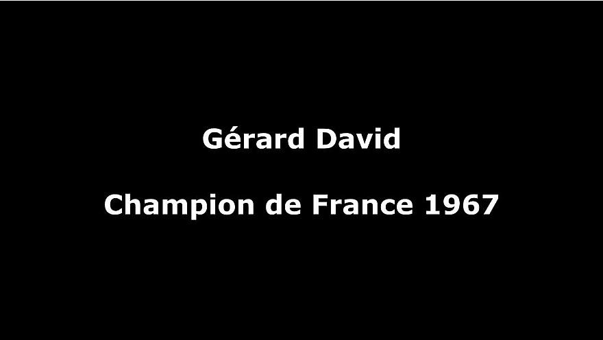 'Je suis un pur produit de l'école de rugby de Montauban' Gérard David - Champion de France 1967
