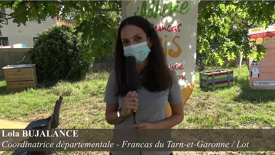 Lola BUJALANCE, coordinatrice départementale - Francas du Tarn-et-Garonne / Lot :  Egalité, liberté des femmes ! On en discute ?