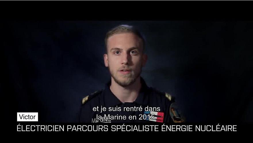 #Portrait - Victor, second-maître technicien conduite et maintenance nucléaire @etremarin