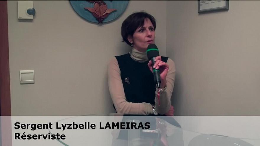 Caporal chef Lysbelle Lameiras - réserviste  : une femme dans un métier dit pour homme  #égalitéHommeFemme