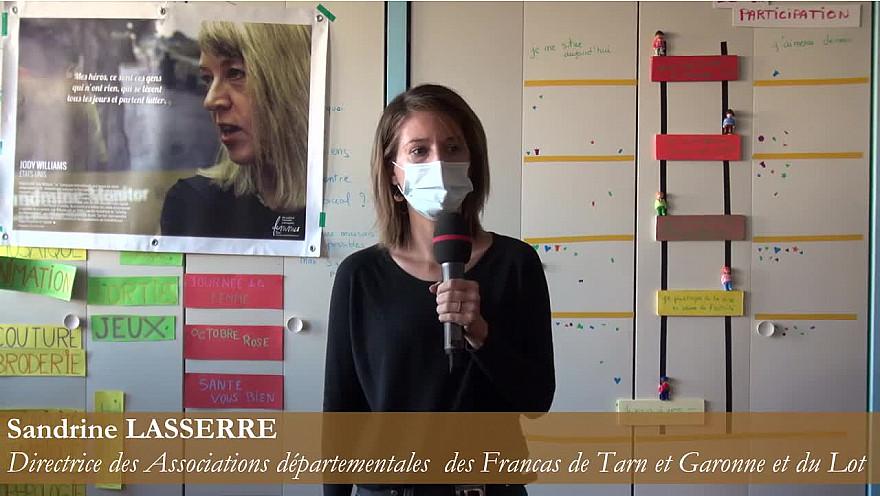 Sandrine LASSERRE - Directrice des Associations départementales des Francas de Tarn et Garonne et du Lot : Egalité, liberté des femmes ! On en discute ?
