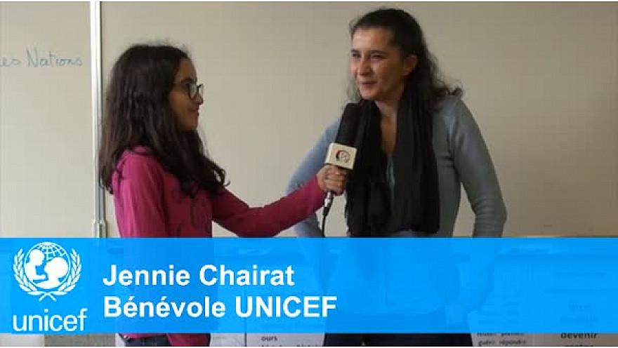 Les enfants de CM de l'école George Sand à Montauban rencontrent l'UNICEF @UNICEF31
