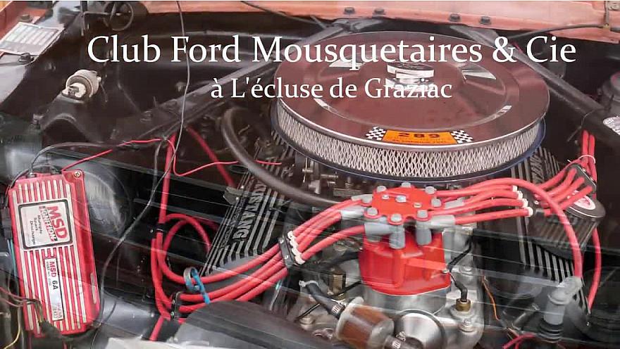 Club Ford Mustang à Graziac #Patrimoine #Tourisme #Fluvial #Gers #Occitanie #Tv-Locale @smartrezo