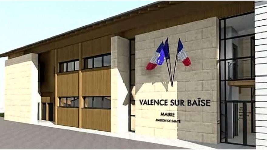 Nouvelle maison de santé à Valence #Gers #Occitanie #Tv_Locale.fr