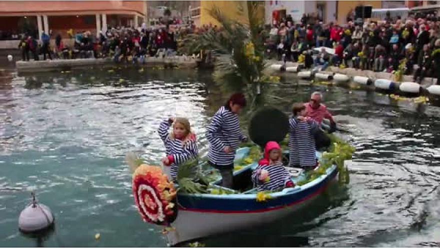 Bataille Navale Fleurie de Villefranche sur Mer