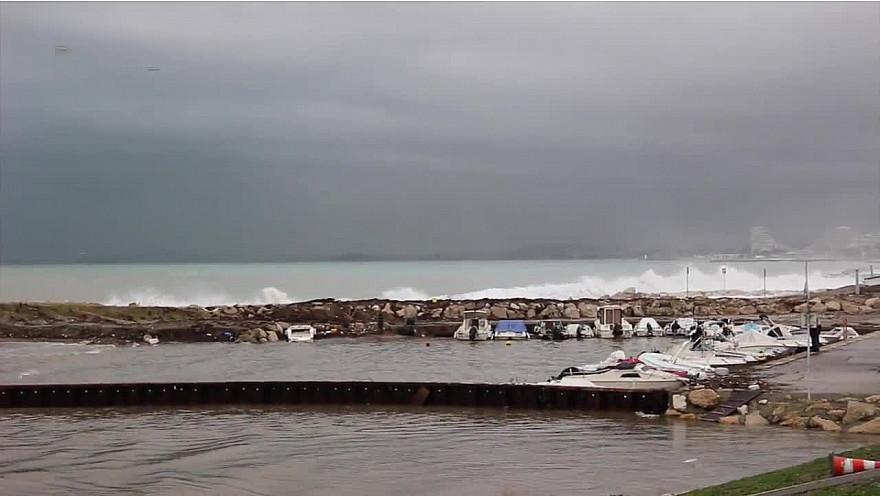 Grand nettoyage suite aux intempérie sur la Côte d'Azur