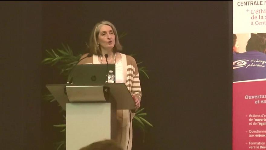 Discours de Carole Deumie Directrice de l'Ecole Centrale de Marseille qui accueillait les Entretiens de l'Excellence le 1 févrirer2020 @CentraleMars @Les_EE @MichaGUERIN @ChenvaTieu