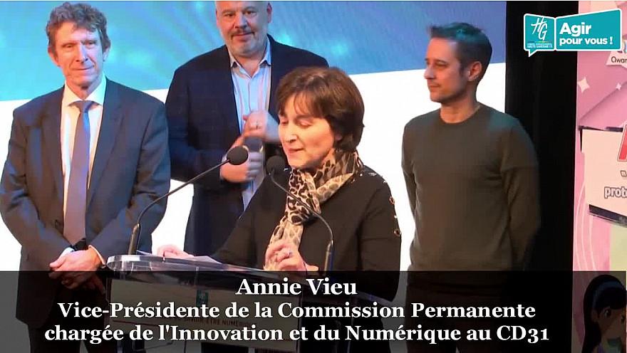 Discours introductif d'Annie VIEU  à la ''Journée du Savoir-être Numérique'' organisée le 20 janvier à l'Hôtel du Département à Toulouse @annie_vieu @HGNUMERIQUE @HauteGaronne @sicoval31 @Freya_Games