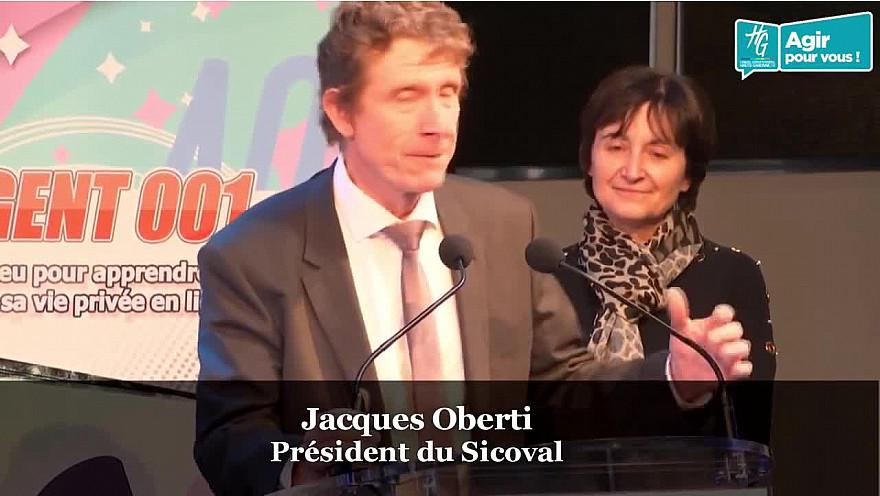 Discours introductif de Jacques Oberti Président du Sicoval  à la ''Journée du Savoir-être Numérique'' organisée le 20 janvier à l'Hôtel du Département à Toulouse @JacquesOberti @annie_vieu @HGNUMERIQUE @HauteGaronne @sicoval31 @Freya_Games