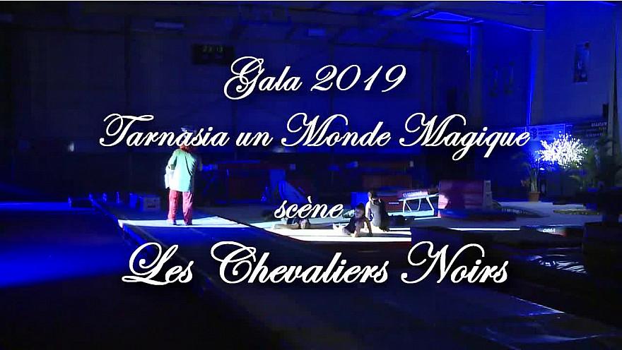 Gala 2019 de la Tarnaise Gym: Tableau 'Les Chevaliers Noirs' de Tarnaisia 33ème gala de fin d'année