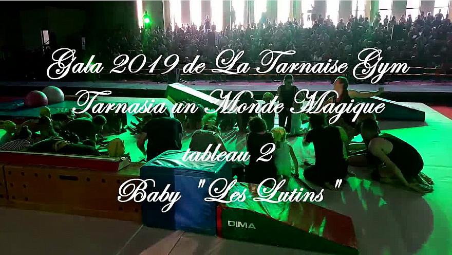 Gala 2019 de la Tarnaise Gym: Tableau 2 'Les Lutins'