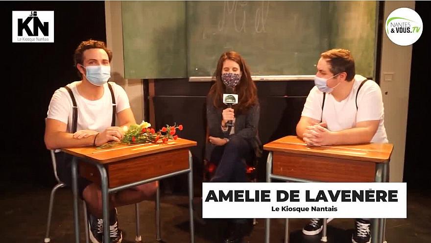 Sur Smartrezo Nantes&VousTV  nous présente MIEL, interview d'ALEXANDRE SIBIRIL & GUILLAUME ROUSSEL au TNT