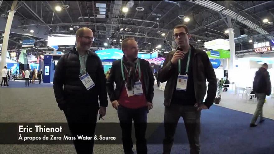 CES 2020 Las Vegas :  Eric Thienot nous présente Zero Mass Water #CES2020 de #LasVegas @jblefevre60 @Ym78200 @pierrepinna @ipfconline1 @labordeolivier @tewoz @PironTristan @MichaGUERIN @zeromasswater