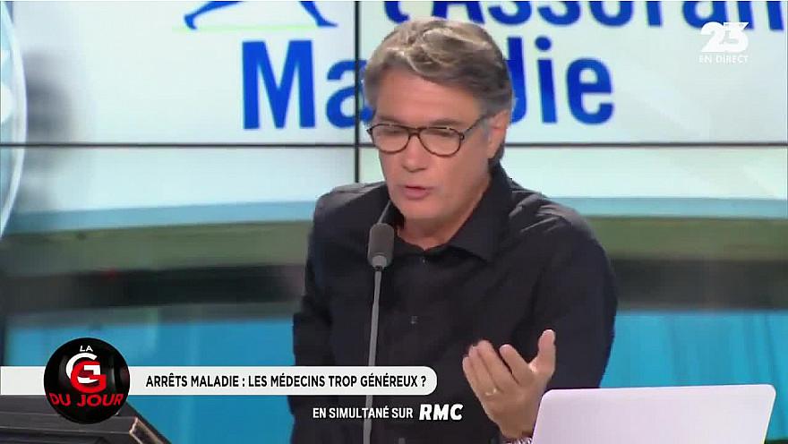 La CPMEopposée  à 'Faire Payer les Arrêts Maladie aux Entreprises' interview de François Asselin sur RMC aout 2018
