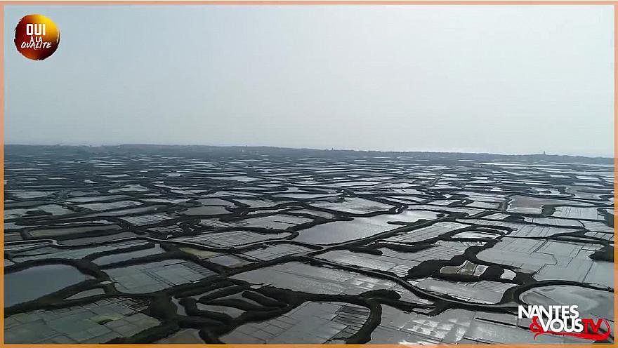 Approche Rurale Smartrezo avec Nantes&VousTV  à la découverte du sel de Guérande avec le Paludier Thibaud David