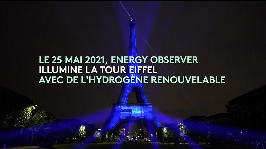 Energy Observer :  Anne Hidalgo au 'Paris de l'hydrogène' - Journal de Bord 2021 @energy_observer @VicErussard @Anne_Hidalgo