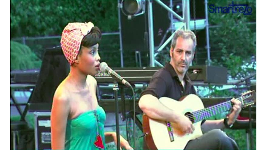 Imany : son concert du 8 juillet 2011 au Jazz Montauban  @Imanyofficiel