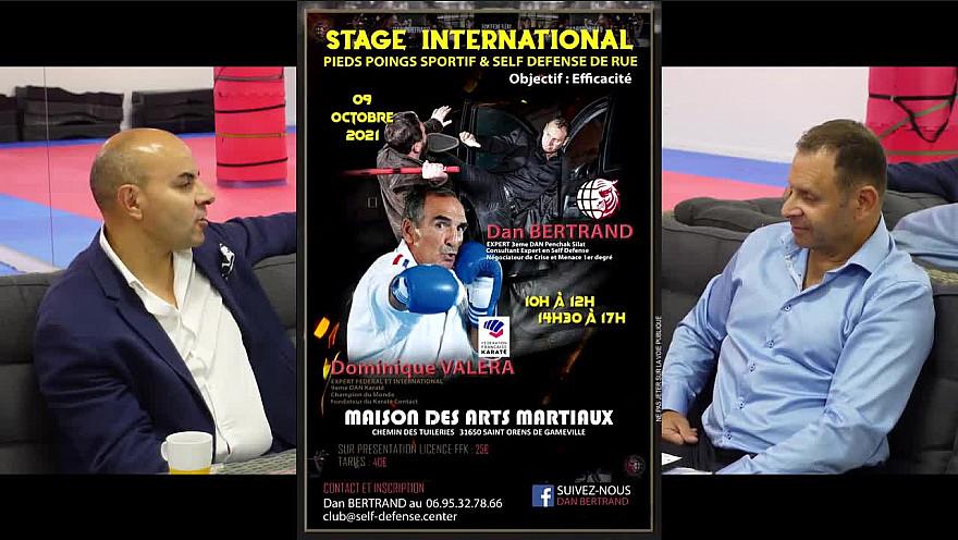 TV Locale Toulouse sur Smartrezo :  Stage ouvert à tous avec Dominique Valera et Dan Bertrand à la Maison des Arts Martiaux de Saint Orens Gameville ce samedi 9 octobre 2021