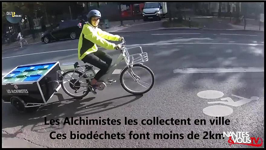 Nantes&VousTV :  LES ALCHIMISTES TRANSFORMENT VOS DECHETS EN COMPOSTE @AlchimistesCo