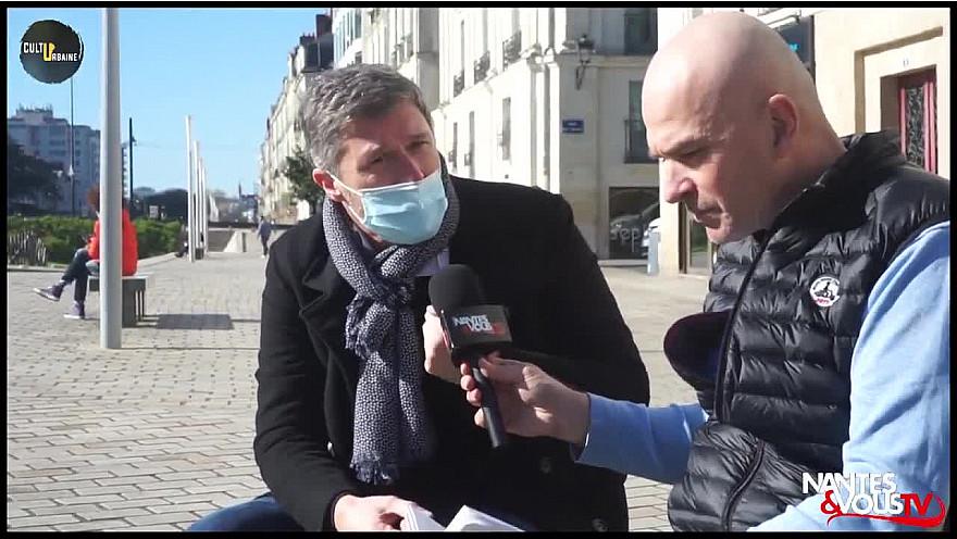 Nantes&VousTV 'Culture Urbaine' : Clément Lesort et son nouvel ouvrage 'Entre le Trait et la Plume'  @Clement_Lesort