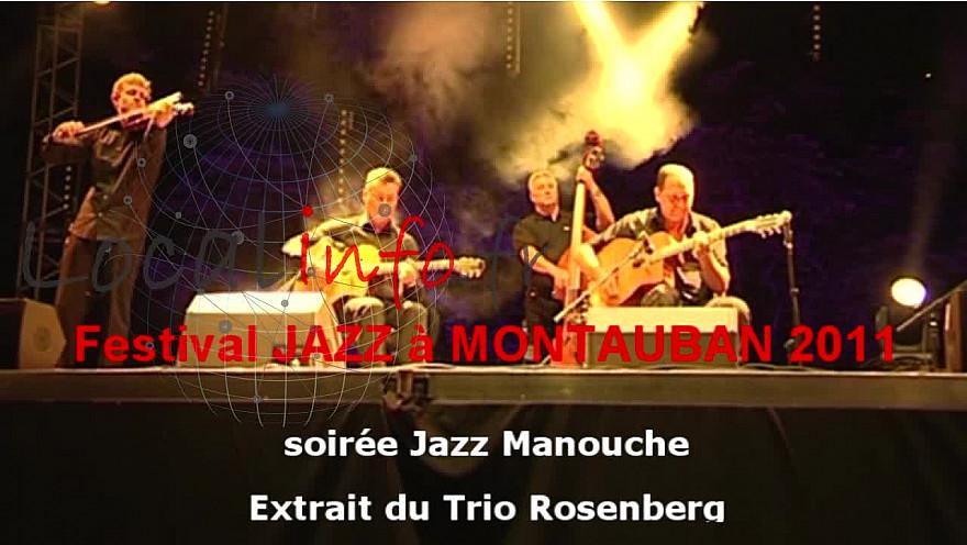 JAZZ MANOUCHE :  The Trio Rosenberg avec le violonniste Tim Kliphuis @mlecomte #Tvlocale_fr @rosenbergtrio