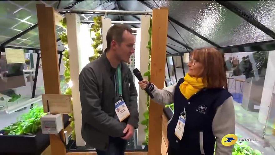 CES 2020 Las Vegas :  Le Groupe La Poste présente MyFood , une des #Startups #FrenchIoT présente avec nous au#CES2020  @VanessaChocteau @Vpagnon @Clara_Schtt @MichaGUERIN @MyFood