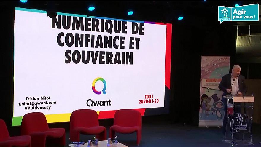Keynote de Tristan Nitot de Qwant  à la ''Journée du Savoir-être Numérique'' le 20 janvier à l'Hôtel du Département à Toulouse @nitot @HGNUMERIQUE @HauteGaronne @sicoval31 @Freya_Games @willy_lafran @Qwant_FR