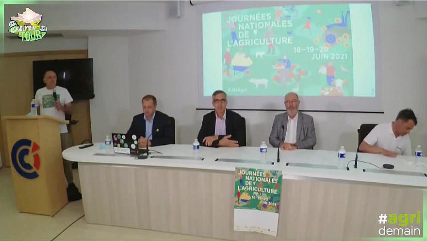 AgridemainTour 2021 : La souveraineté alimentaire en débat @Agridemain @CAVAC_ @Chambagri17 @ChambagriPdL @GroupeSica @gaiago_agri