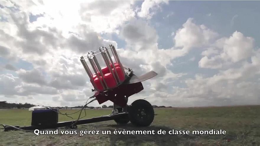 Approche Made in France :  Les lanceurs de plateaux de Ball Trap par Laporte