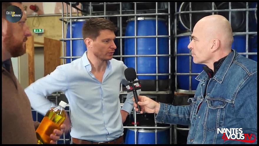 Nantes&VousTV :  Collecte et traitement des huiles alimentaires usagées avec Valoléique à Bouaye - 44