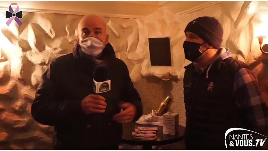 Cancer du Sein : A la rencontre de l'association 'Madame S' au coeur du Santeuil café avec Mathieu son Président #LutterEnsemble #VuParLesHommes #TousConcernés