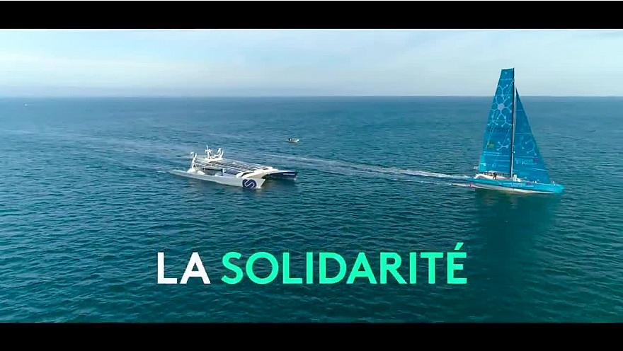 Energy Observer retrouve les quais de son port d'attache : Saint-Malo ! Du 24 octobre au 4 novembre @energy_observer