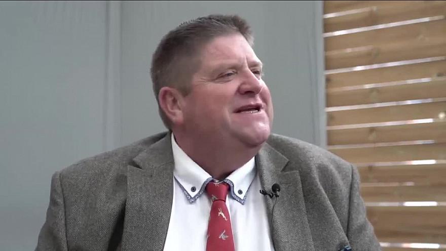L'Approche-TV : Willy Schaen pendant le salon de la Ruralité de Compiègne septembre 2020.
