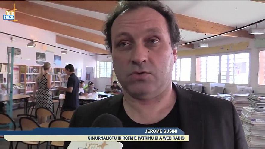 Télé Paese Corsica Éducation : à Ajaccio le collège Giovoni lance sa web radio @TelePaese
