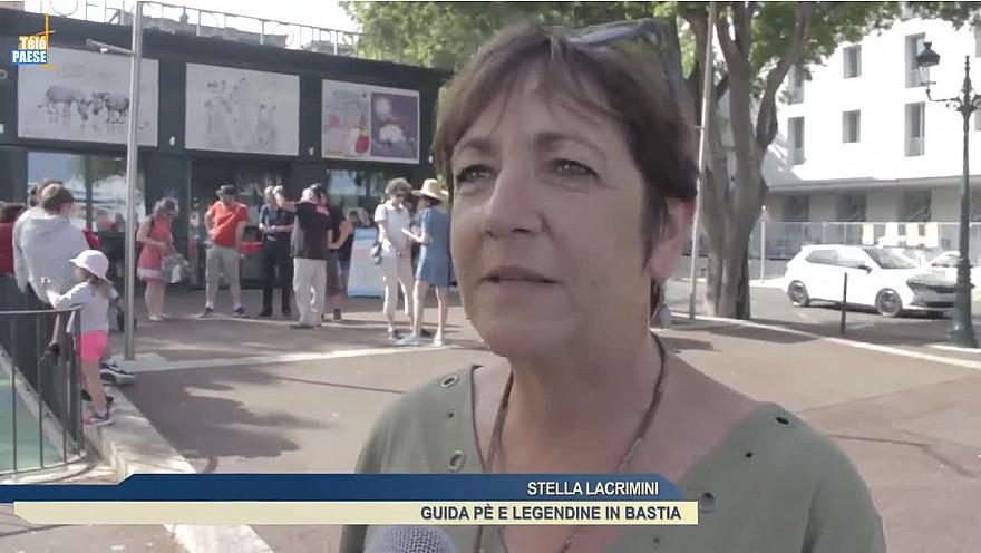 Télé Paese Corsica: Tourisme Découverte de Bastia autrement avec les 'Légendines' @TelePaese