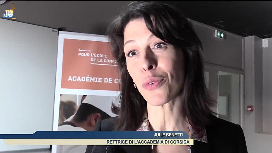 Télé Paese Corsica Éducation : La nouvelle Rectrice de Corse a pris ses fonctions