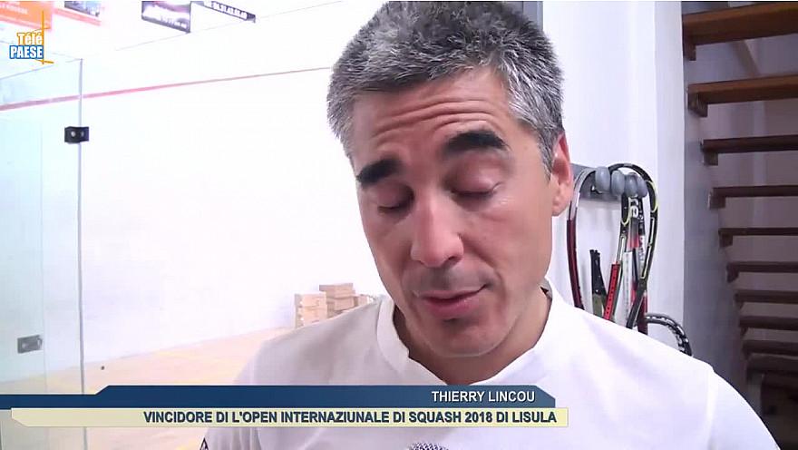 Télé Paese Corsica: Thierry Lincou et Maud Duplomb assoient leur supériorité au 22e Open International de Squash @TelePaese