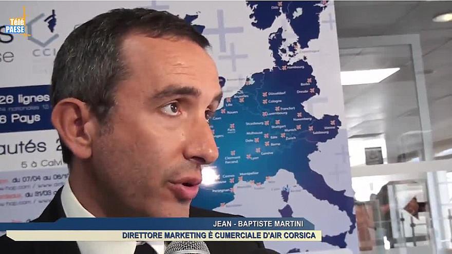 Télé Paese Corsica: Transport : Après Ajaccio et Bastia, Air Corsica relie Calvi à Bruxelles-Charleroi @aircorsica @TelePaese