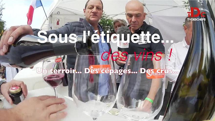 Teaser du magazine 'Sous l'étiquette... des vins !' avec comme invités exceptionnels Guillaume Gomez et Sebastien Ripari #Terroir @TVdeschefs @Smartrezo