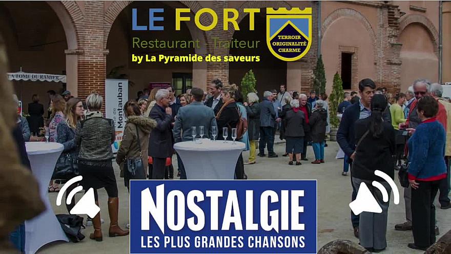 Restaurant le fort sur Nostalgie pour la journée gourmande du 31 aout