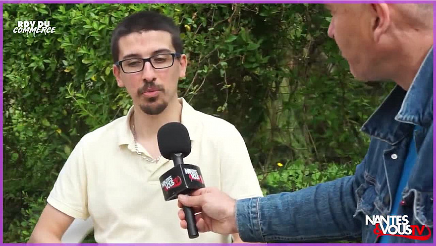 Nantes & Vous TV - La Brewscuiterie, des bières aux biscuits ! - RDV du Commerce